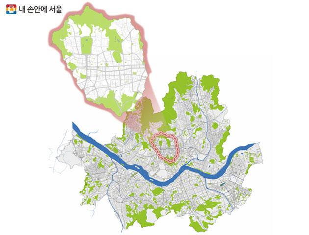 `녹색교통진흥특별대책지역`으로 지정된 서울 한양도성 내부 16.7㎢ 구간