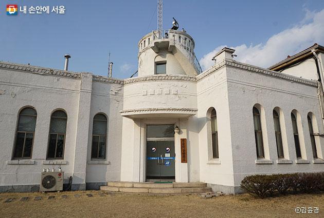 서울 기상관측소의 모습 ⓒ김윤경