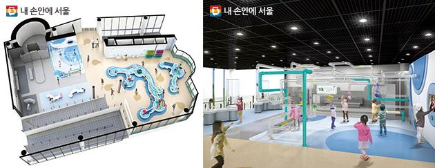 오작동이 발생한 전시물 및 노후화된 시설을 보수해 새롭게 바뀔 3층 과학놀이 전시실