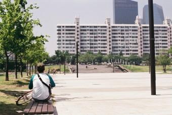 [미션]공원에서 휴식