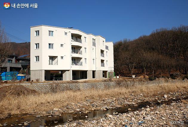 김수동 이사장이 입주한 공동체 주택 ⓒ이현정