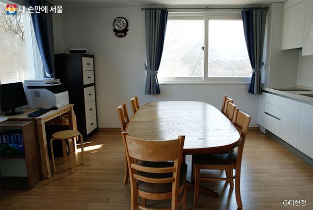 공동체 주택의 공용 공간 ⓒ이현정