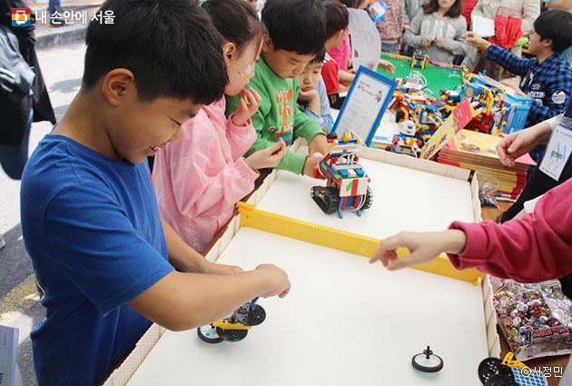 어린이날, 숭실대학교에서 열리는 창의력 체험축제 현장 ⓒ서정민