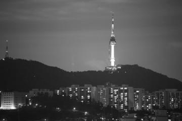 [미션]흑백 남산타워