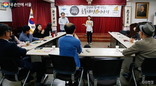 서울 및 수도권 11개 권역에서 동시다발적으로 개최된 `주권자 파티`ⓒ이현정