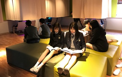 소셜 스트레스 프리존 이용 학생들