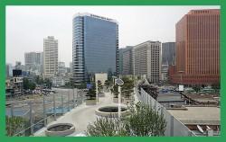 오는 20일 정식 개장을 앞둔 `서울로7017` ⓒ김윤경