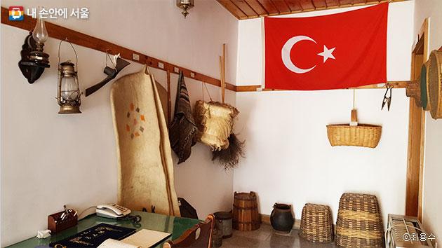 터키 전통포도원주택의 내부ⓒ최용수터키 전통포도원주택의 내부ⓒ최용수