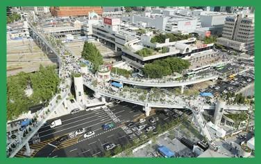 5월 20일 개장한 서울로 7017 모습