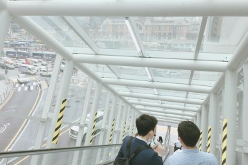 서울로7017 에스컬레이터