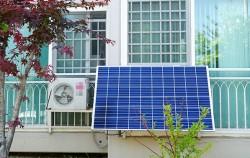 집에 설치한 `태양광 미니발전소` ⓒ김영옥