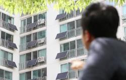 `전 가구 태양광 설치`로 서울시 환경상 대상을 받는 동대문구 홍릉동부아파트 ⓒ연합뉴스