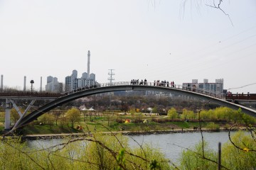 선유도공원 무지개다리