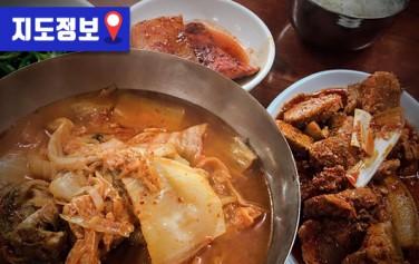 김치찌개 제육볶음