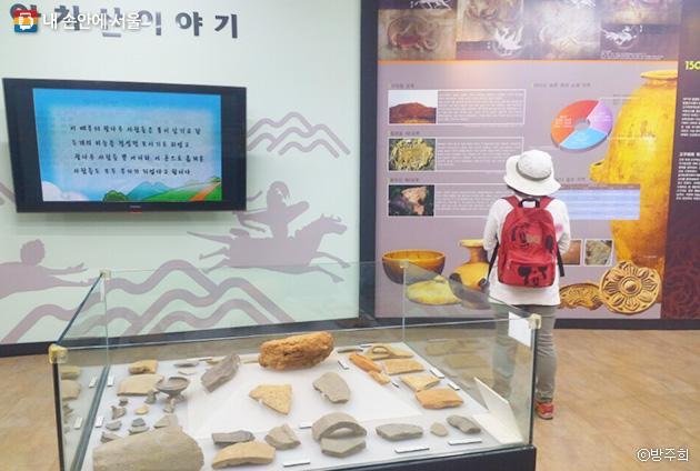 아차산 `고구려역사문화홍보관`에는 고구려 유물과 그 유적지인 아차산의 역사와 문화가 전시되어 있다. ⓒ방주희