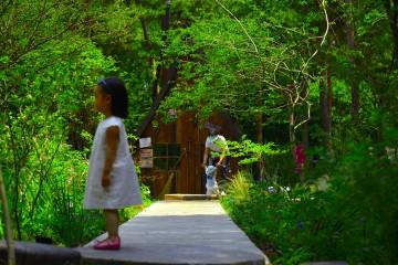 서울숲 속 쉼터