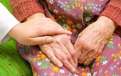 할머니 손