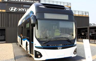 H사의 새로운 전기버스인 `일렉시티`ⓒ박장식