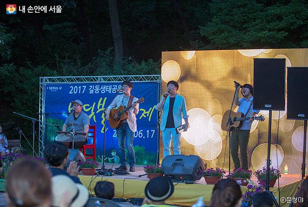 길동생태공원 반딧불이 축제 음악회 ⓒ문청야