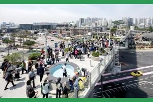 서울로 7017 개장 한 달 203만명 돌파