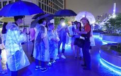 도보관광해설가와 함께 `서울로별빛산책` 걷기 ⓒ강선희