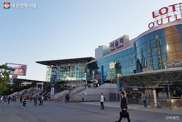 서울역 일대 도시재생은 서울역의 위상을 재정립하고, 인근 지역에 활기를 불어넣을 기회다. ⓒ박혜민