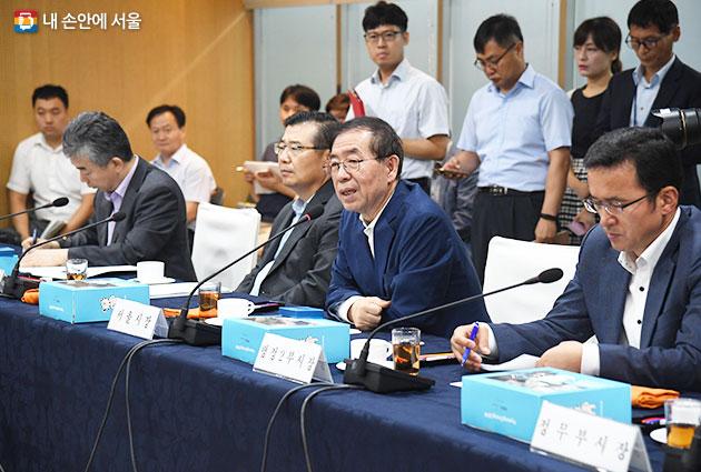 서울시와 25개구는 오는 9월부터 `시장·구청장 정책협의회`를 신설한다