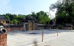 우즈베키스탄 타슈켄트 서울공원 입구 모습. 7월3일 이곳에 고려인 정착 80주년 기념비가 세워졌다
