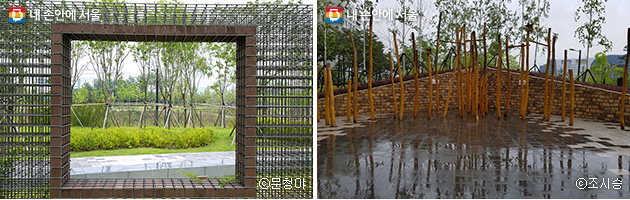 마치 미술작품과 같은 시설들 ⓒ문청야(좌),ⓒ조시승(우)