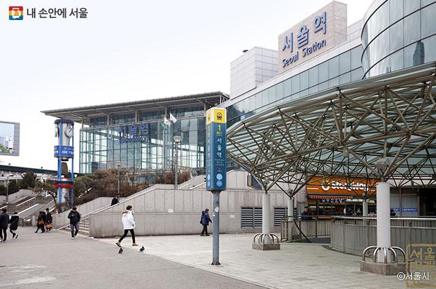 서울역 1번 출구 ⓒ서울시