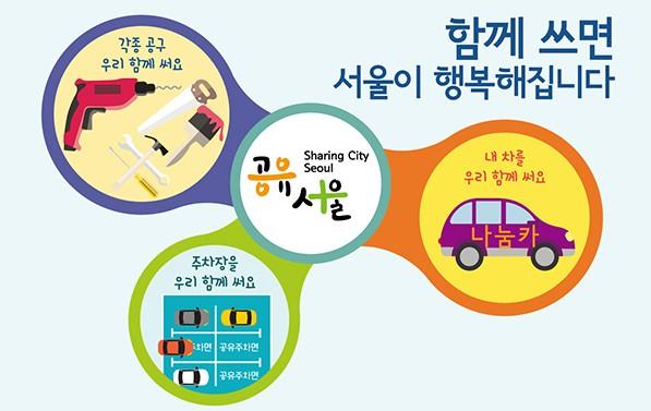 함께 쓰면 서울이 행복해 집니다.