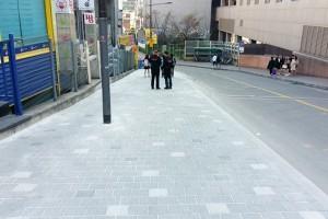 한양대-왕십리역 사이 '걷고 싶은 거리'로 재탄생