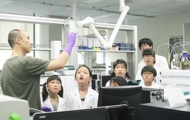 보건환경연구원 열린 실험실 모습 ⓒ이현정