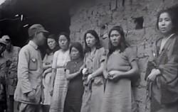 기존에 공개됐던 일본군 위안부 사진과 이번에 공개된 영상을 보면 인물들의 얼굴과 옷차림이 동일했다. ⓒ서울시 서울대인권센터