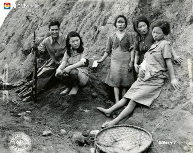 앞서 공개된 미군이 촬영한 위안부관련 사진