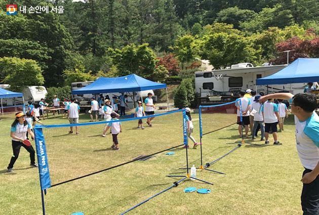 서울시 하반기 가족 스포츠 캠프가 9월15일부터17일까지 개최될 예정이다