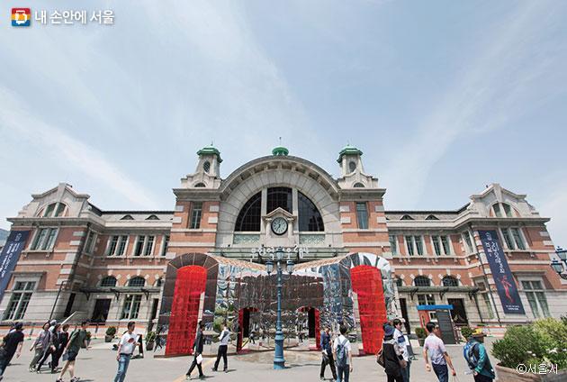 옛 서울역을 개조해 만든 복합문화공간 `문화역서울284`ⓒ서울시
