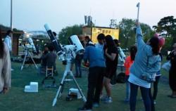 월드컵공원에서 12일 밤 페르세우스 유성우 관측 행사가 열린다