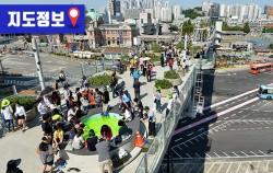 서울로7017 개장 100일간 총 380만명이 찾았다_지도보기