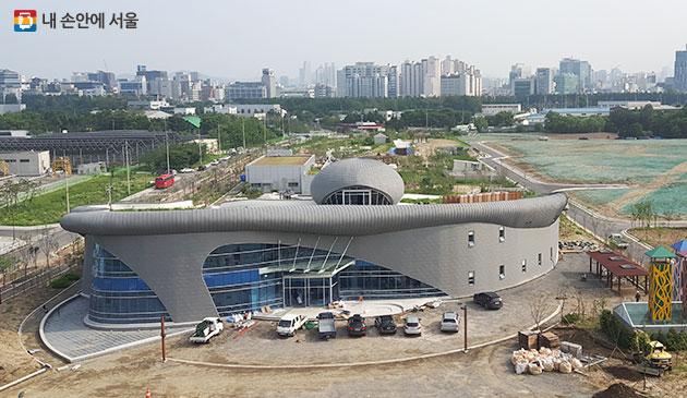 서울하수도과학관 전경