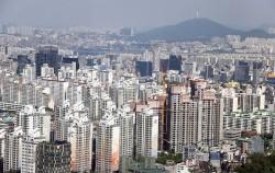 서울시 도심 전경