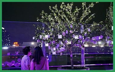 서울로7017에 '무궁화꽃이 피었습니다'