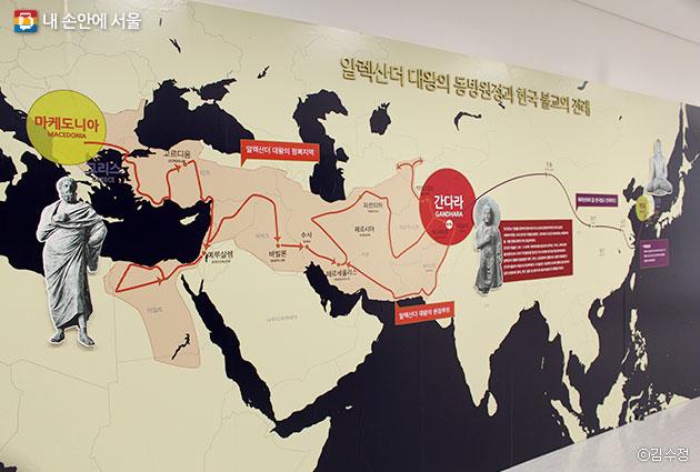 알렉산더 대왕 동방원정과 한국 불교 전래 ⓒ김수정