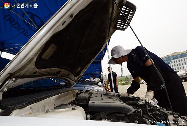 추석을 앞두고 다양한 차량 무상점검 서비스가 실시된다.  ⓒ뉴시스