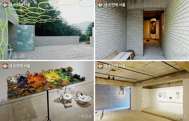 성북도원1·2·3의 `재생유랑` 전시 모습 ⓒ변경희