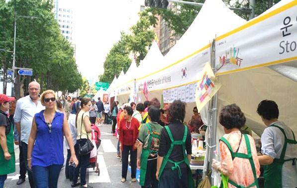 세계 60개국 문화가 모인 `지구촌 나눔 한마당` 축제 현장ⓒ김은서