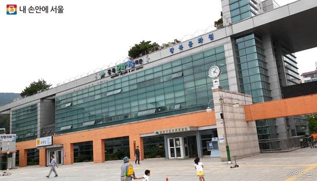 `가오리역`의 근처 `강북문화예술회관` 모습 ⓒ임영근