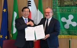 서울시, 이탈리아 '롬바르디아주'와 우호도시 체결