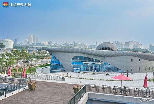 서울하수도과학관 전경ⓒ이동규
