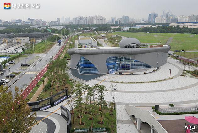 서울하수도과학관 전경 ⓒ박분